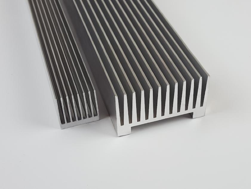Heat Exchange Extrusions - Wave Guides, Heat Sinks & Header Guides - Minalex