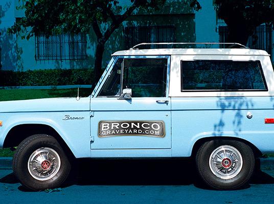 The Bronco Graveyard Vehicle Image